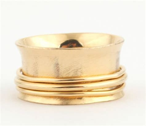 Jewelry   Solid 14K Gold ULTRA Wide Band #2412519   Weddbook