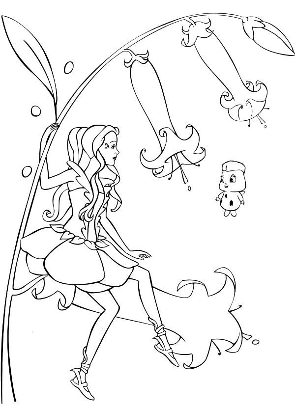 Index Of Coloriages Heros Tv Barbie Fairytopia