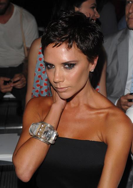 Victoria Beckham Frisur Hochsteckfrisuren 2013