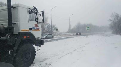 Электроснабжение и транспортное сообщение нарушено в Хабаровском крае