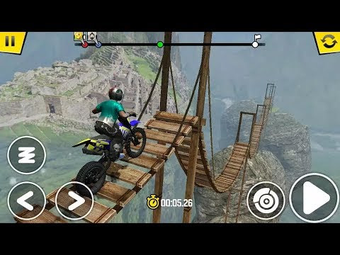 Trial Xtreme 4 Thailand Level 8 to 13 - Motocross Bike Racing Game - Bike Games - Video Games