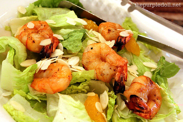 Grilled Shrimp Salad Regular P225 Family P380