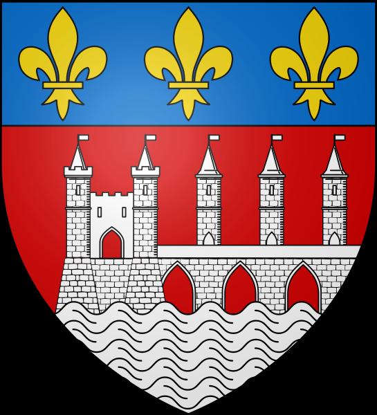 File:Blason ville fr Saintes (Charente-Maritime).svg