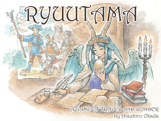 Ryuutama - Natural Fantasy Role-Playing Game