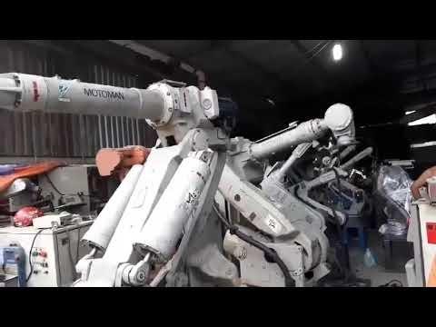 Robot Motoman UP130 và SK120. Tải trọng 120kg vs 130kg