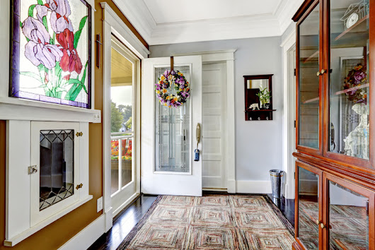 Spring Spruce Up: Entryway | More Space Place Mt. Pleasant