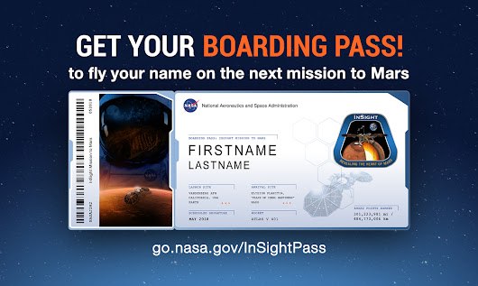Send Your Name to Mars: InSight