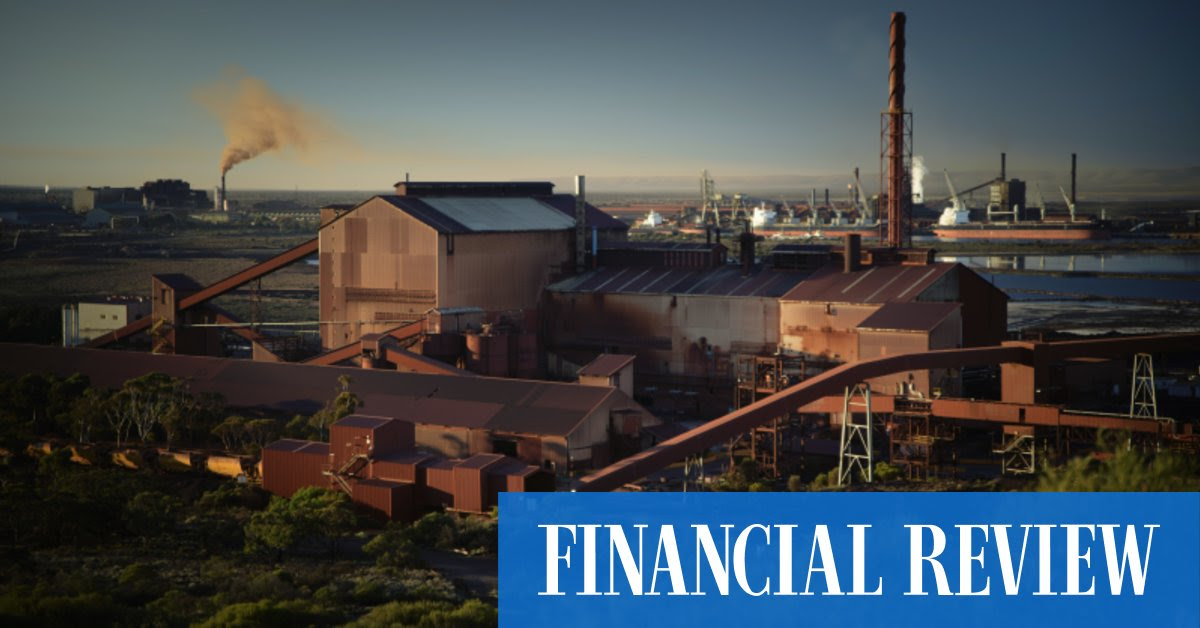 Sanjeev Gupta's GFG signs refinancing deal for Whyalla steelworks