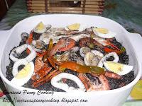 Arroz Negra, Black Paella