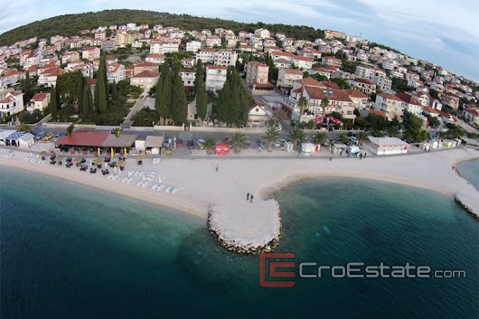 Croatia,Ciovo - Attractive real estate in the first row to the sea, for sale