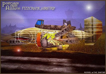 Postcards from Azeroth: Fizzcrank Airstrip, by Rioriel Whitefeather