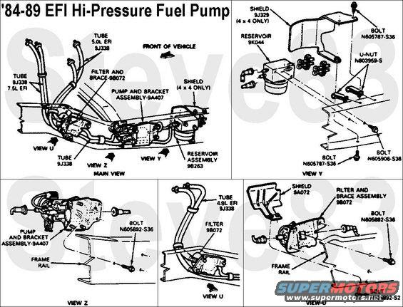 How Many Fuel Pumps In A 1989 F 150 Dual Tank Ford Truck Enthusiasts Forums