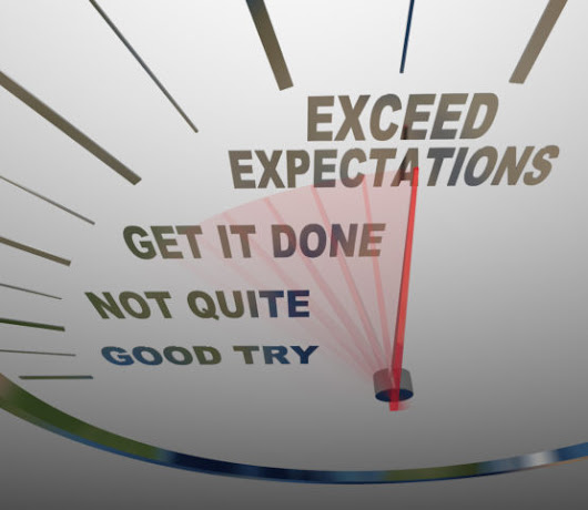 Mike Blogs - Communicate Expectations Accurately, then Try Hard to Exceed Them