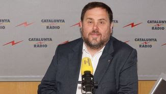 El vicepresident del govern, Oriol Junqueras