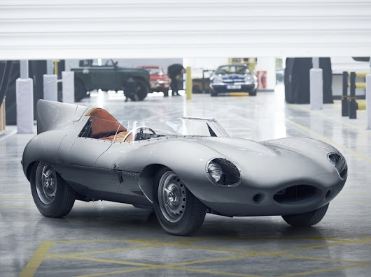 Jaguar D-TYPE: the Rebirth of a Classic