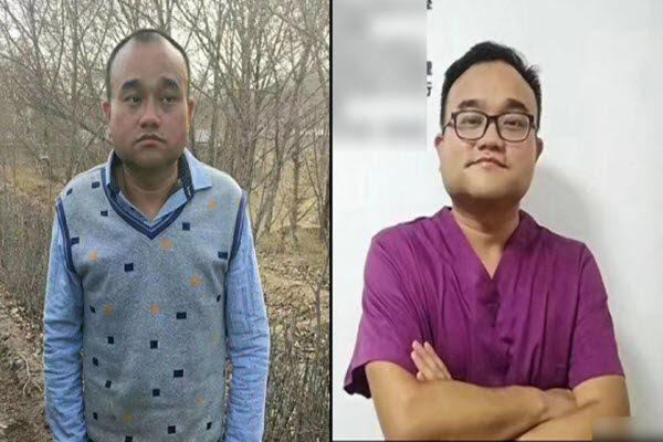 谭秦东入狱前后照对比判若两人 网络图片