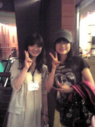 Kingyo producer Maiko and star Luchino Fujisaki