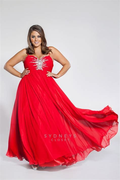 Back by popular demand, 2014 Plus Size Prom gown with