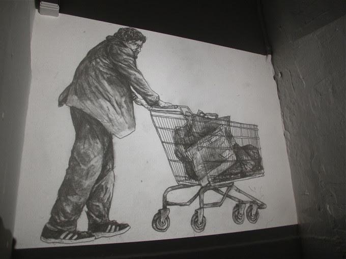 Cart pushing