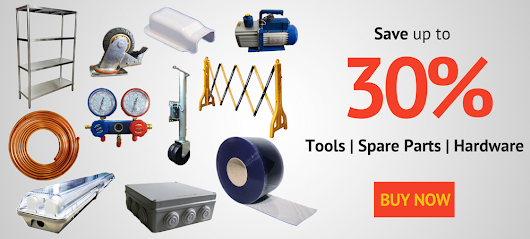 Hardware, Spare Parts, Tools - Coolroom & Refrigeration - Buy Online