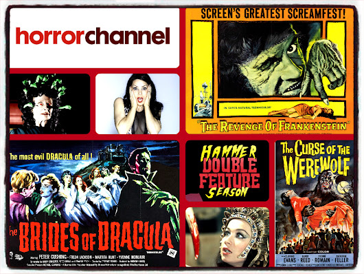 CLASSIC HAMMER HORROR RETURNS TO THE HORROR CHANNEL!