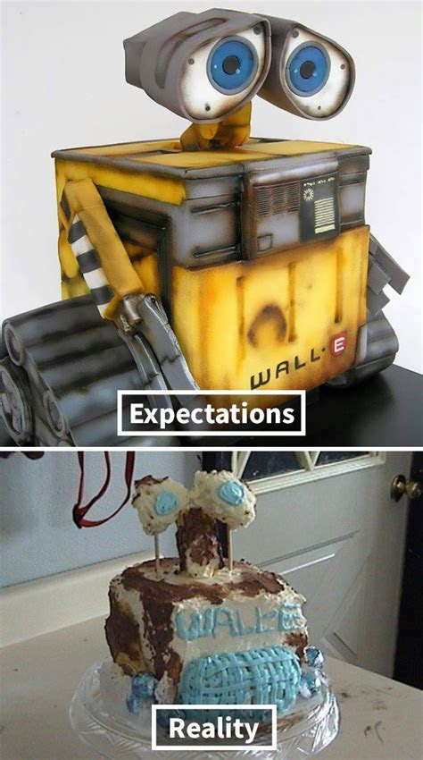 Expectations Vs Reality: 10  Of The Worst Cake Fails Ever
