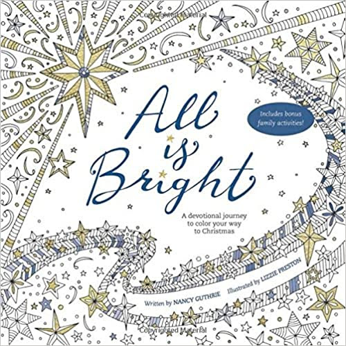Beautiful Christmas Devotional & Coloring Book All-in-One!