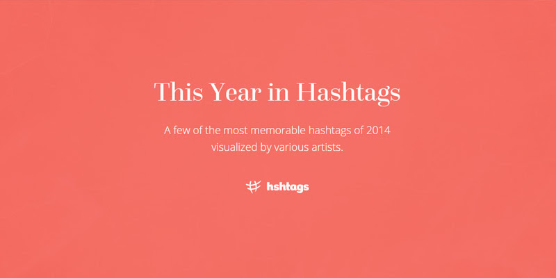 year in review hashtags 2014
