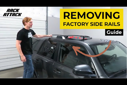 2018 Audi Q5 Roof Rack Removal