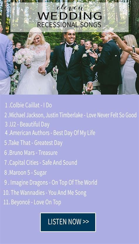 The 25  best Wedding exit songs ideas on Pinterest