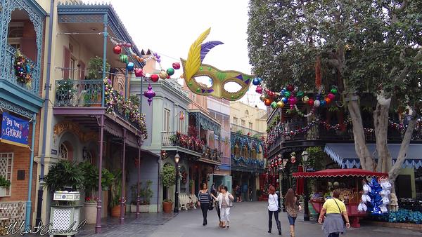 Disneyland Resort, Disneyland, New Orleans Square, Christmas, Christmas Time