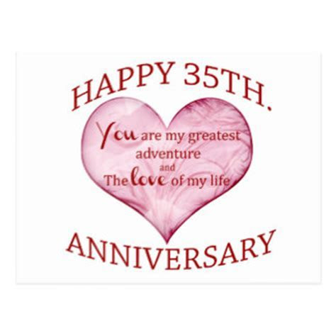 35th Wedding Anniversary Cards & Invitations   Zazzle.com.au