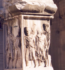 Rome, Arch of Septimus Severus: Conquered Phrygian Slaves