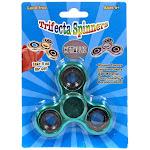 Trifecta Spinners Metallic Teal Spinner