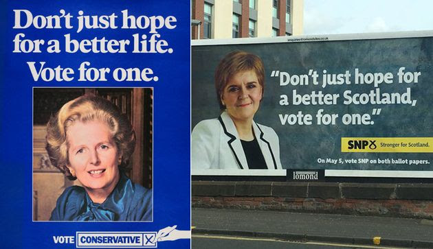 Image result for a vote for SNP is a vote for Tory