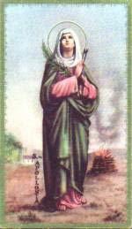 Apolonia, Santa