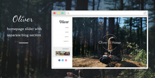 Download Oliver - Responsive Blogger Template nulled | OXO-NULLED