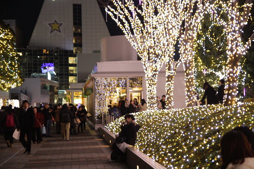 Christmas lights in Shinjuku 4
