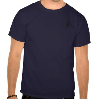 A FF Flaming Skull shirt