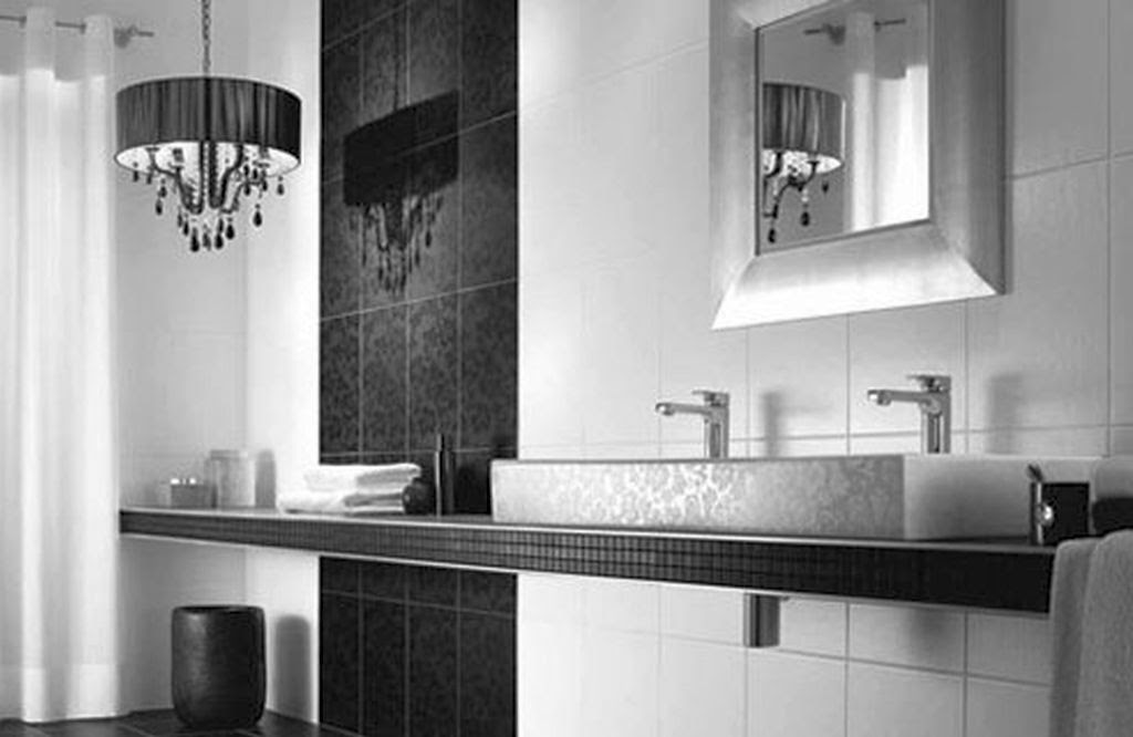 20 Bewitching Modern Black Bathrooms Ideas