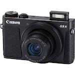 Canon PowerShot G9 X Mark II 20.1 MP Compact Digital Camera - 1080p - Black