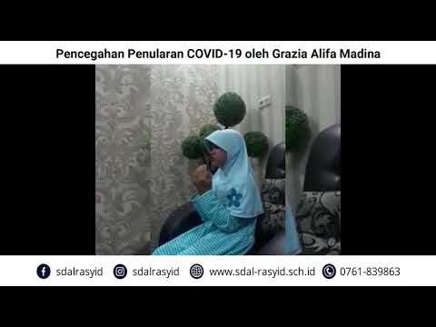 Pencegahan Penularan COVID 19 oleh Grazia Alifa Madina