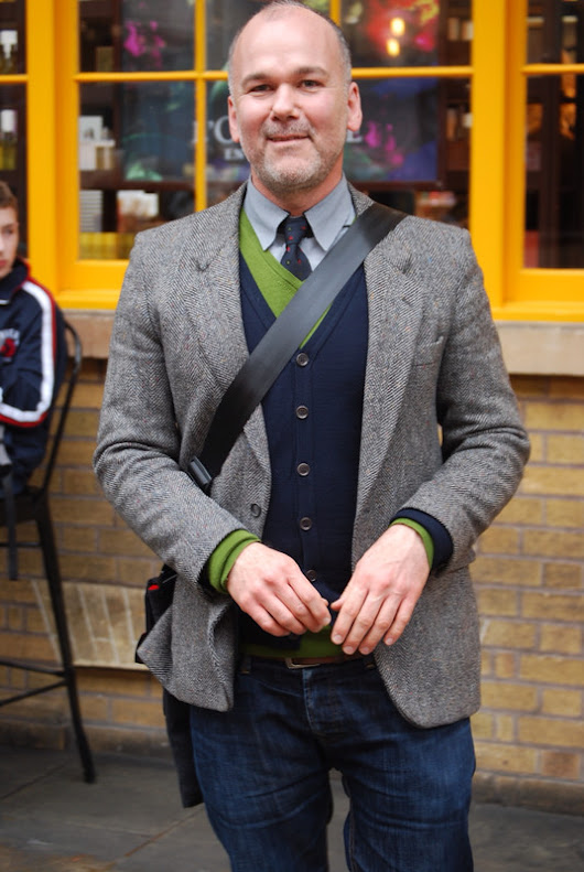 Street Style: Chris, Covent Garden, London