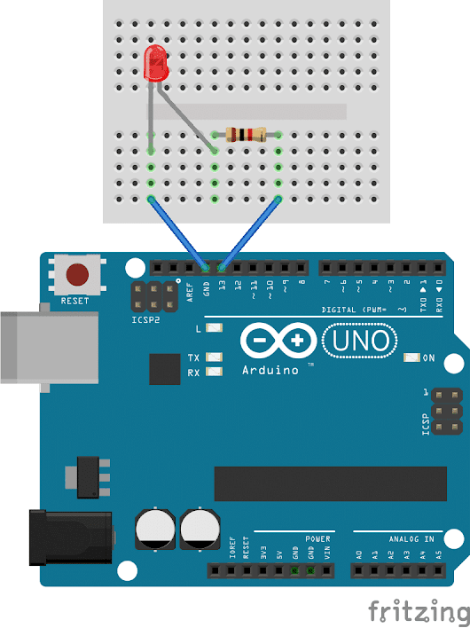 Arduino Basics - Controlling the LED Part 1