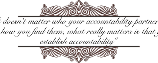 Be Accountable and Get Your Book Done