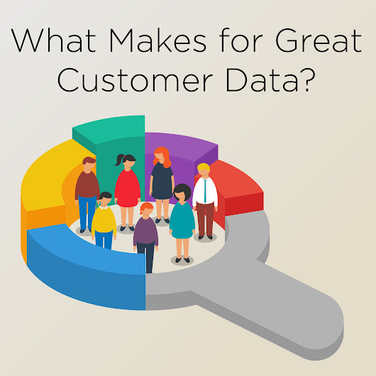 What Makes for Great Customer Data?