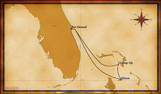 Personal Navigators: 3-Night Bahamian Cruise from Port Canaveral - January 19, 2018 • The Disney Cruise Line Blog