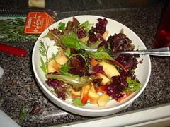 Salad with Nectarines