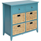 Acme Flavius Console Table Teal