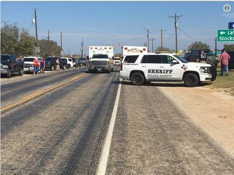 About 27 Dead In Texas As Gunman Opens Fire On First Baptist Church